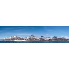 Berglandschap BE - panoramische fotoprint