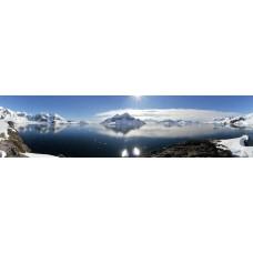 Berglandschap BF - panoramische fotoprint