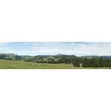 Berglandschap BH - panoramische fotoprint