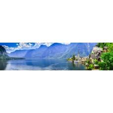 Berglandschap BI - panoramische fotoprint