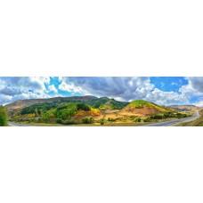Berglandschap BJ - panoramische fotoprint