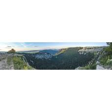 Berglandschap BL - panoramische fotoprint