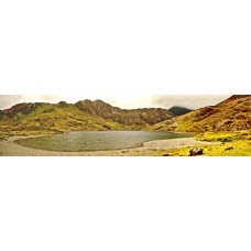 Berglandschap BM - panoramische fotoprint