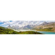 Berglandschap BO - panoramische fotoprint
