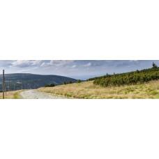 Berglandschap BP - panoramische fotoprint