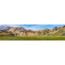 Berglandschap BQ - panoramische fotoprint