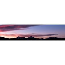 Berglandschap BR - panoramische fotoprint
