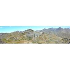 Berglandschap BT - panoramische fotoprint
