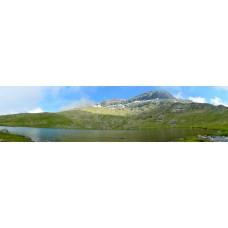 Berglandschap BU - panoramische fotoprint
