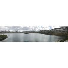 Berglandschap BV - panoramische fotoprint