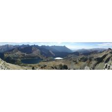 Berglandschap BX - panoramische fotoprint