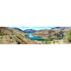 Berglandschap BY - panoramische fotoprint