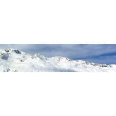 Berglandschap BZ - panoramische fotoprint