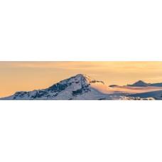 Berglandschap C - panoramische fotoprint
