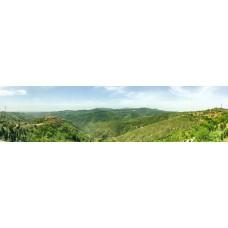 Berglandschap CA - panoramische fotoprint