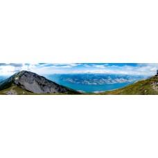 Berglandschap E - panoramische fotoprint