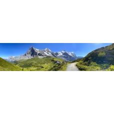 Berglandschap F - panoramische fotoprint