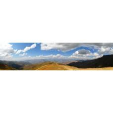 Berglandschap H - panoramische fotoprint