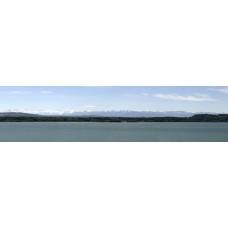 Berglandschap J - panoramische fotoprint