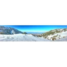 Berglandschap L - panoramische fotoprint