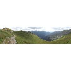 Berglandschap N - panoramische fotoprint