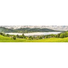 Berglandschap R - panoramische fotoprint