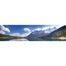 Berglandschap S - panoramische fotoprint