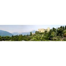 Berglandschap W - panoramische fotoprint
