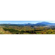 Berglandschap Y - panoramische fotoprint