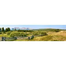 Berglandschap G - panoramische fotoprint