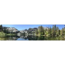 Bergmeer A - panoramische fotoprint