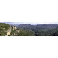 Blue Mountain - Sydney Australie - panoramische fotoprint