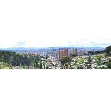 Bogota Colombia - panoramische fotoprint