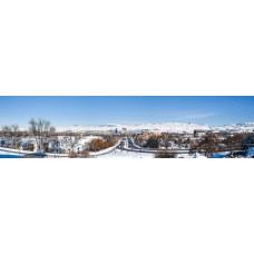 Boise Idaho USA - panoramische fotoprint