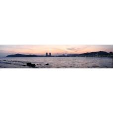 Busan Zuid-Korea - panoramische fotoprint