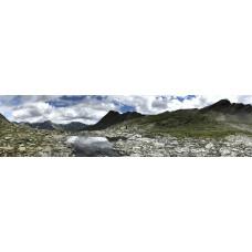 Calanca alpenpad - panoramische fotoprint