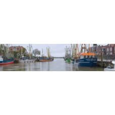 Carolinensiel Duitsland - panoramische fotoprint