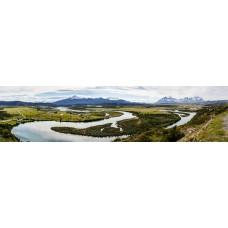 Chili - panoramische fotoprint