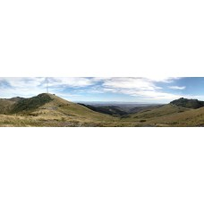 Christchurch Nieuw Zeeland - panoramische fotoprint