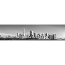 City skyline - panoramische fotoprint 2