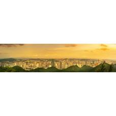 City skyline - panoramische fotoprint 3