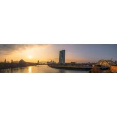 City skyline - panoramische fotoprint 5