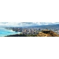 City skyline - panoramische fotoprint 6