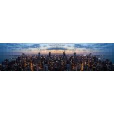 City skyline - panoramische fotoprint 7