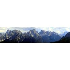 Dolomieten - Italie - panoramische fotoprint