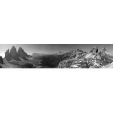 Dolomieten Italie - panoramische fotoprint 2