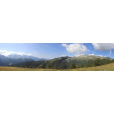 Dolomieten Trentino Italië - panoramische fotoprint