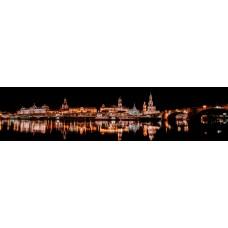 Dresden Duitsland - panoramische fotoprint