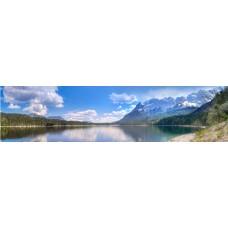 Elbsee Duitsland - panoramische fotoprint