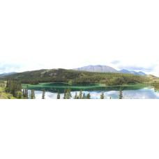 Emerald Lake Yukon USA - panoramische fotoprint
